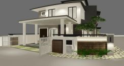 Perspective interior design id and 3D