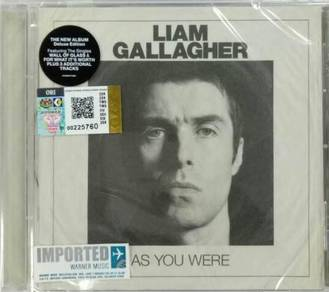 IMPORTED CD Liam Gallagher As You Were