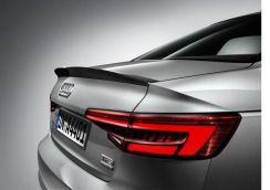 Audi New A4 S4 B9 Boot Spoiler ABS