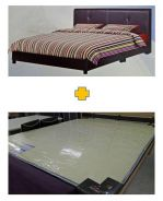 Queen Size Divan Bed + Mattress (Katil + Tilam)