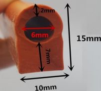 Silicone Sealer - u shape