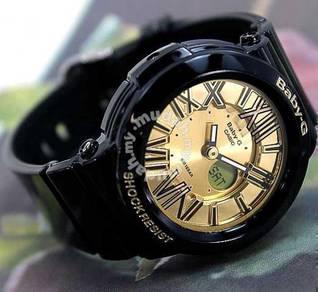 Watch- Casio BABY G BGA160-1B GOLD -ORIGINAL