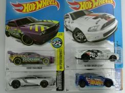 Hotwheels Ford lot of 4