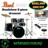 Drum Set Pearl Road Show DX Cymbal Pack