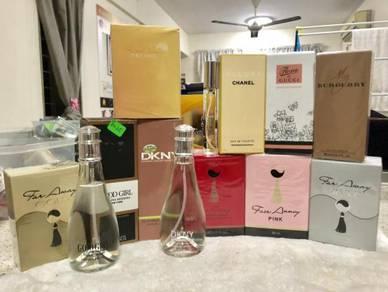Jualan tutup kedai perfume berjenama