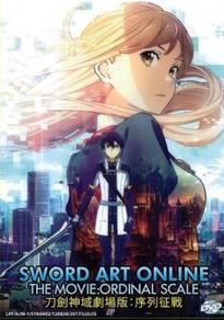 DVD ANIME Sword Art Online The Movie Ordinal Scale
