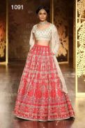 Semistitch Lehenga ( Galaxy )