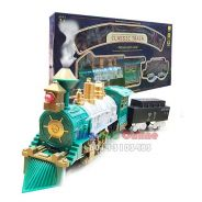 Train Battery Operated Train Toy with Smoke Light