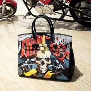 Handbag bag graffiti slingbag skeleton RBHB009