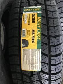 Tayar 245 70 16 Westlake 4x4 AT SL369 tyre