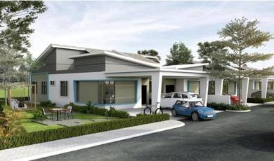 NEW HOUSE 1STY SEMI D 37x85 KLIA & NILAI