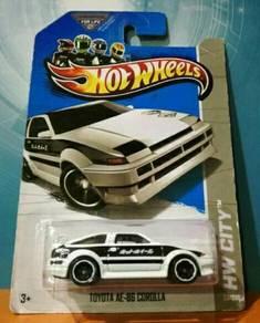 Hot wheels Toyota AE86 Corolla