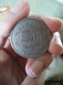 1967 MALAYSIA 50cent