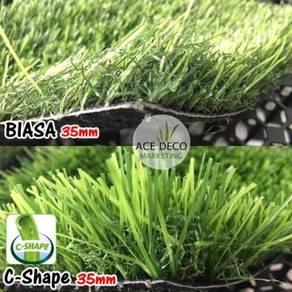 TERBAIK SERAT C Artificial Grass Rumput Tiruan 06