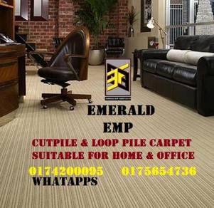Supply install karpet hotel pejabat carpet cutpile