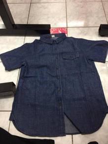 Baju navy blue jeans