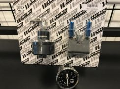 Works Adjustable Fuel Regulator Pressure meter