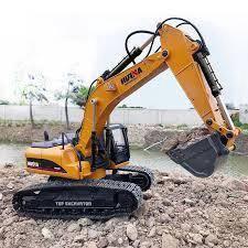 Huina rc escavator