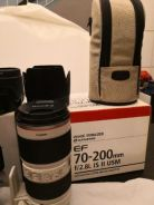 Canon EF 70 - 200mm F2. 8L IS II USM Lens