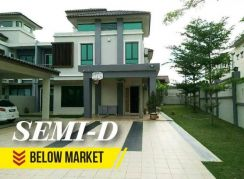 [Below MV] Semi-D Ivory Villa for sale Nilai