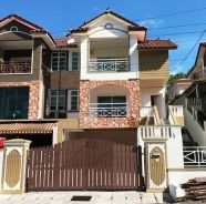 Perak, Ipoh, Jalan Kuala Kangsar, Rumah Berkembar 2.5 Tingkat