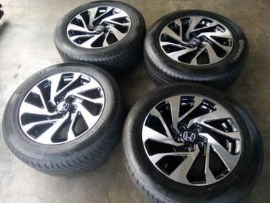 Honda civic fc oem 16inc rim with tire for stream