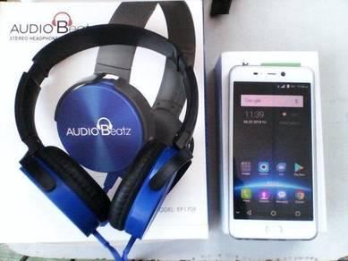 Leagoo t5c with warranty n head phone yang mahal