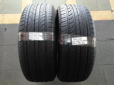 2pcs TOYO C1S Tyres 215/55/17 215*55/17