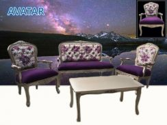 JATI SOFA 112 SEATER coffee table- A8375
