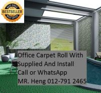 Office Carpet Roll with Expert Installation 244b