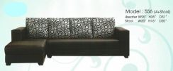 Dimension l-shape sofa-8556