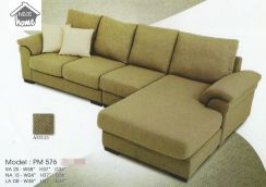 Dimension l-shape sofa-8576