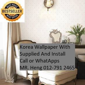 3D Korea Wall Paper with Installation 9id