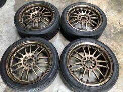Re30 17 inch 5h 114 7.5jj off 43 original japan