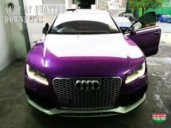 AUDI A7 QUATTRO DOWN PIPES custom made catless
