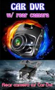 NEW CAR DVR with REAR CAMERA (new)