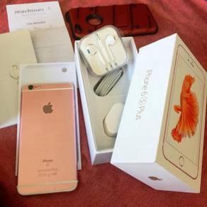 Iphone 6s Plus 64gb MY Rose Gold Machines Permpuan