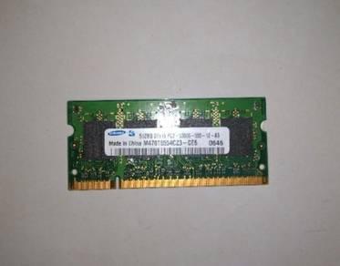 Ram laptop 512mb,1gb,2gb