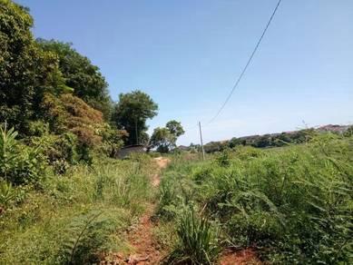 Tanah di kampung padang