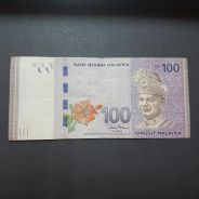 ZB2013140 Replacement Banknote RM100