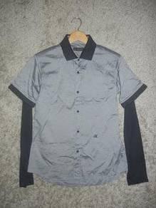 Jaker 35 MORGAN DE TOI HOMME grey shirt