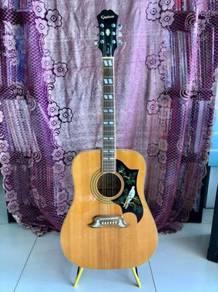 Epiphone Dove Acoustic Guitar Natural