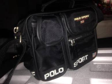 NICE Polo Sport Ralph Lauren bag BLACK