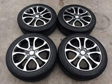 Myvi OEM 15 Inch Sports Rim With Tyre
