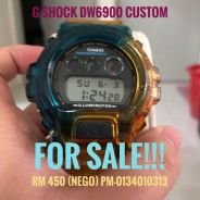 G-Shock DW6900 Custom