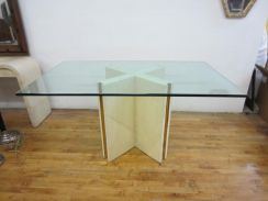TABLE TEMPERED GLASS TOP l kaca alas meja