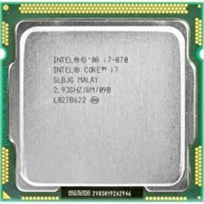 Intel i7 870 sticker lga 1156