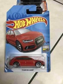 Hot wheels Hotwheels 17 Audi RS 6 Avant