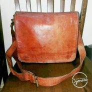 Cross Body Bag Leather Unbrand