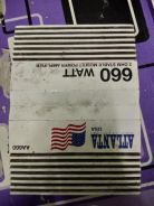 Power amp 660wat